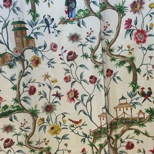 tessuto in cotone Design Petit Chinon