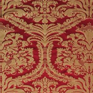 Tessuto Damascato Disegno Damasco Craquele